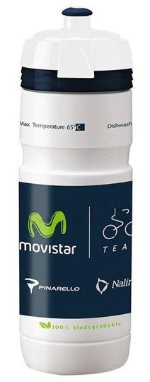 Bidon Elite Super Corsa Team Movistar 750 ml
