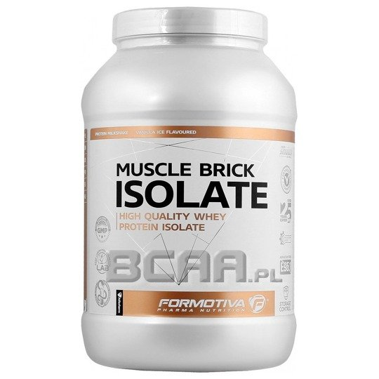 Formotiva-Muscle Brick Whey 1000g white chocolate/coconut