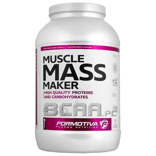 Formotiva-Muscle Mass Maker 1500g chocolate