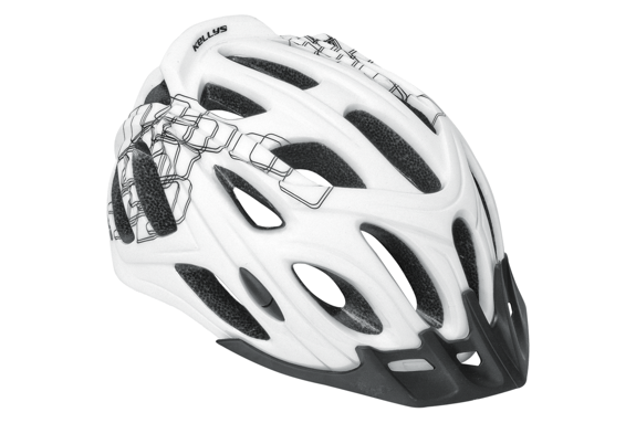 Kask Kelly's DARE  white black