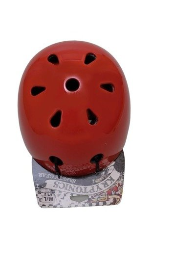 Kask Kryptonics Sacred heart gloss red SGK 12143081-2