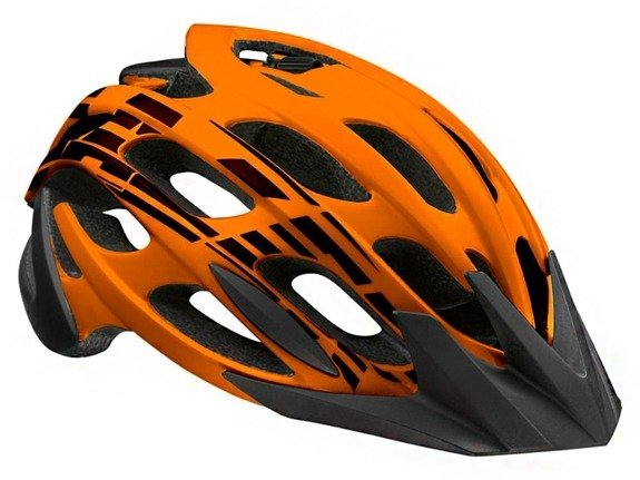 Kask Lazer MAGMA flash orange black