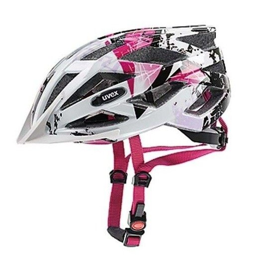 Kask Uvex AIR WING 52-57cm white-pink
