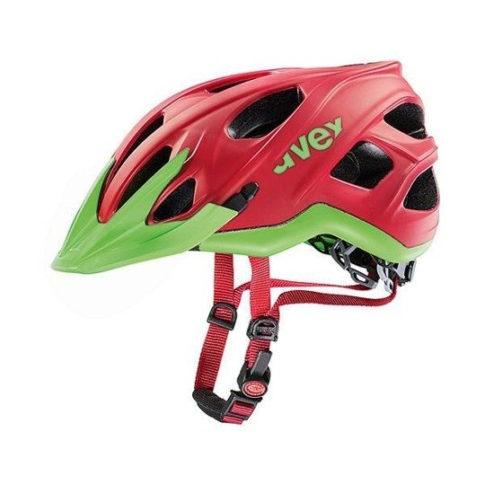 Kask Uvex STIVO CC red-green mat