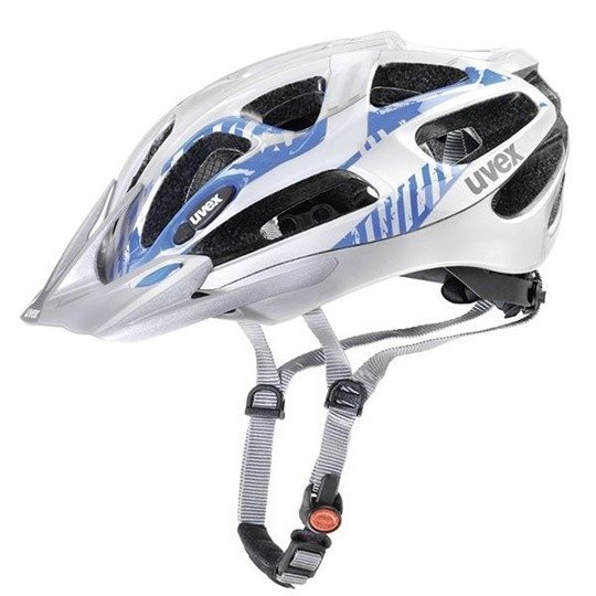 Kask Uvex SUPERSONIC silver-blue