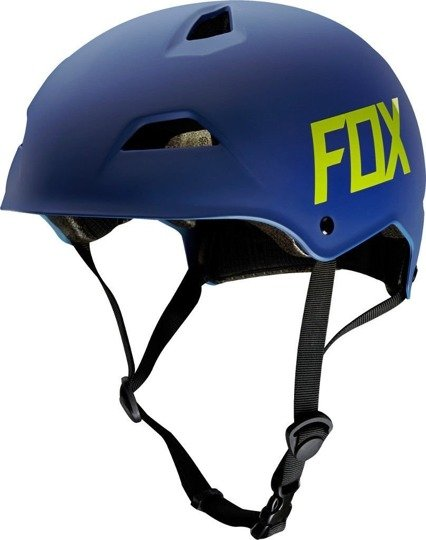 Kask rowerowy Fox FLIGHT Hardshell matte blue