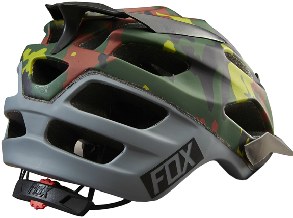 Kask rowerowy Fox FLUX FATIGUE CAMO