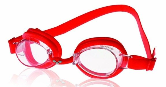 Okulary Arena Bubble jr III red