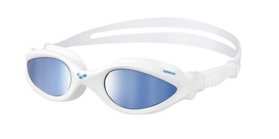 Okulary Arena IMAX Pro mirror white-blue-blue