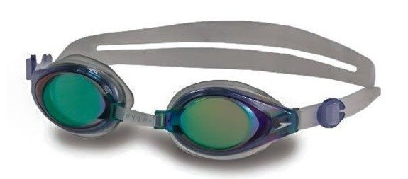 Okulary Speedo MARINER Mirror blue/clear
