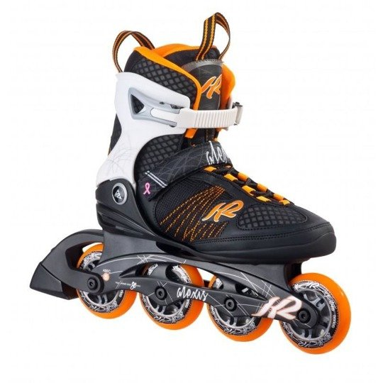 Rolki K2 Alexis 80 black/orange/white 36.5 6.5