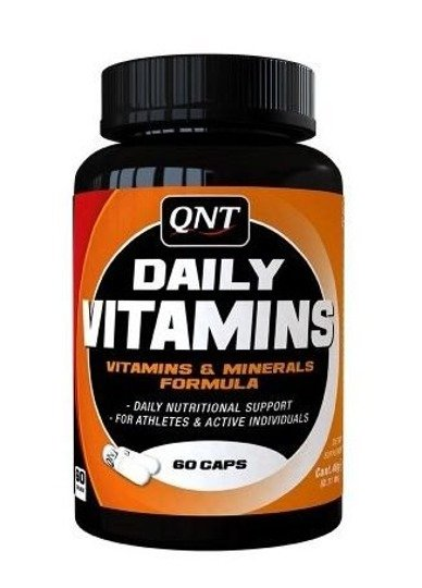 Suplement witaminowy QNT DAILY VITAMINS 60 kaps
