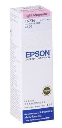 Tusz Epson T6736 Light Magenta butelka 70ml do L800 L810 L850 L1800